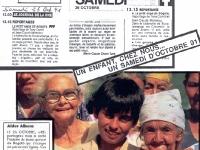 26 Octobre 1991: L'émission qui déclencha...