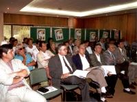 Août 1992 -  ... et annonce officielle du Chantier-jeunes à Bucaramanga. (Photo Bernard)