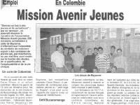 Octobre 1993: Douze jeunes du Pays Basque se préparent et se forment, à l'Afpa/Bayonne