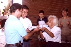 2003 - Visite de Cesar Rincon au Coin de France