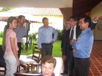 5 Mai 2011 - Pierre-Jean Vandoorne, Ambassadeur de France à Bogota, connaît bien Albeiro